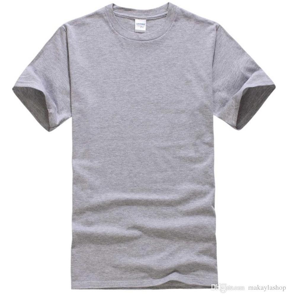 Nowy Solid Color T Shirt Męskie Czarno-białe 100% Bawełniane Koszulki Letnie Deskorolka Tee Boy Skate Tshirt Topy
