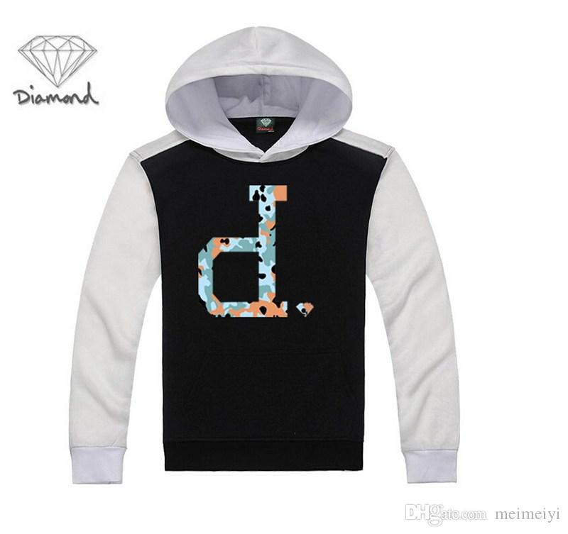 S-5xl chegada dos homens venda quente hip hop clothing fornecimento de diamantes camisola hoodies homens ao ar livre frete grátis