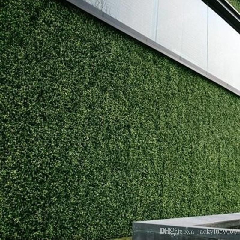 العشب الاصطناعي البلاستيك الاصطناعي boxwood العشب حصيرة جدار ديكور 60x 40 سنتيمتر للحديقة الديكور شحن مجاني