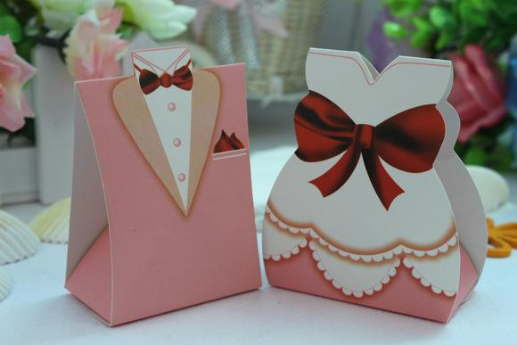 2016 Hot Sale The Bride And Groom Wedding Decorations Party Candy Box DIY Chocolate Wdding Favors Boxes Gift Paper Bags 2018 From Orientalrose
