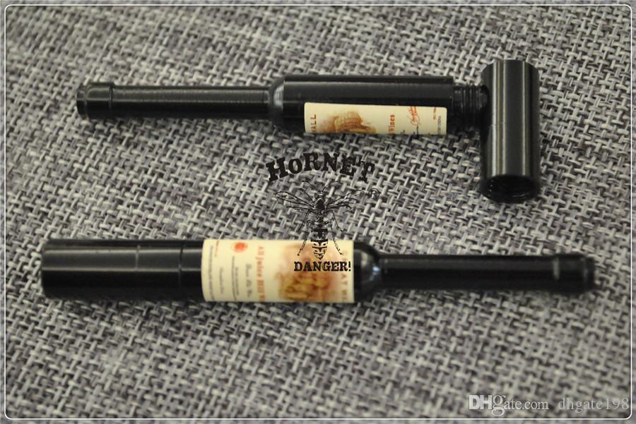 Tragbare Metallpfeife wie eine Flasche Bierpfeife kleines Rauchzubehör Metallpfeife Großhandel von DHL
