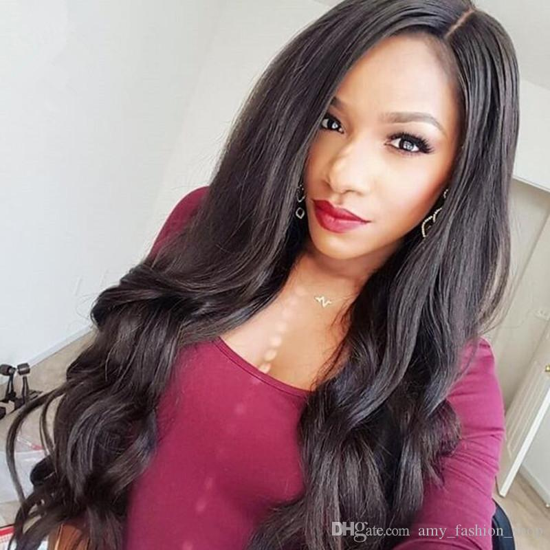 7A Grade Glueless Lace Front Human Hair Wigs Brazilian Hair Full Lace Human Hair Wigs 130 Density Human Hair