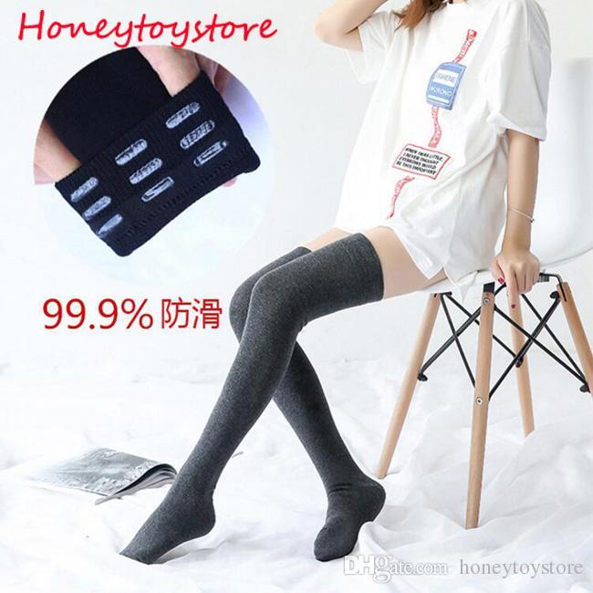 2017 mujer de la señora trenza de lana sobre la rodilla calcetines muslo medias de la manguera de la torcedura caliente calcetines de invierno para las mujeres