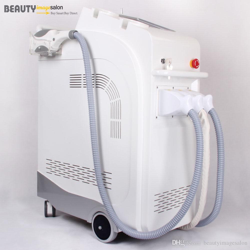 آلة الجمال IPL E-ضوء إزالة إزالة الشعر بالليزر ياج النمش التجاعيد الوشم راديو RF التردد تجديد الجلد متعددة الوظائف
