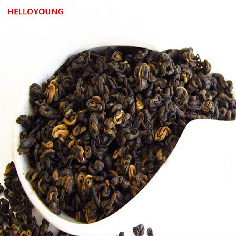 Preferenza 200G Cinese Biologico Tè nero Yunnan Dian Hong 1 Bocciolo 1 foglia rossa Tè sanitario Assistenza sanitaria Nuovo tè cotto Cibo verde