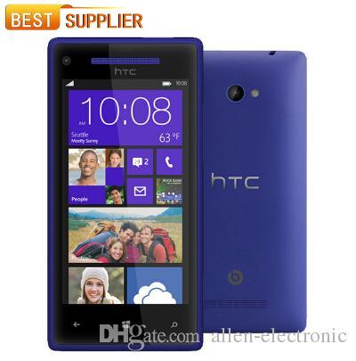 2016 Top Fashion Real Оригинальный HTC 8X Windows Phone C620e с 4.3''TouchScreen 8MP GPS WIFI 1GB / 16GB Многоязычный смартфон