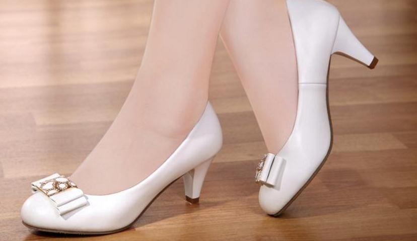 BELLE cristal passager contre véritables chaussures en cuir neuves en été et en automne avec bien avec coréen