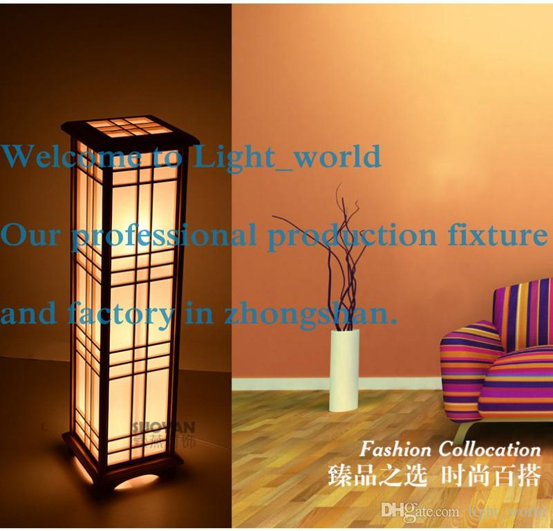 Wholesale floor lamp japanese style tatami table lamp room lights wholesale floor lamp japanese style tatami table lamp room lights brief wooden floor lamp chinese mozeypictures Images