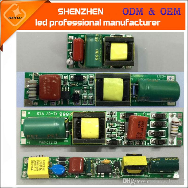 AC85-265V 50/60Hz DC30-80V 9w 18w T5 T8 T10 non-isolated LED tube Driver tube non-isolated Power Supply Lighting Transformers Electronic