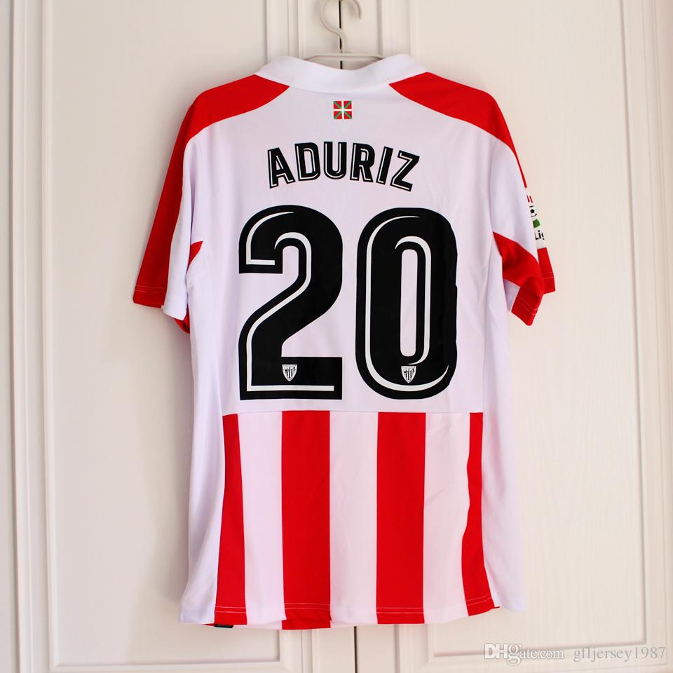 26ab9e0c4b49b athletic bilbao 2017 2018 home and away athletic bilbao jersey athletic  bilbao football shirt soccer jersey in stock