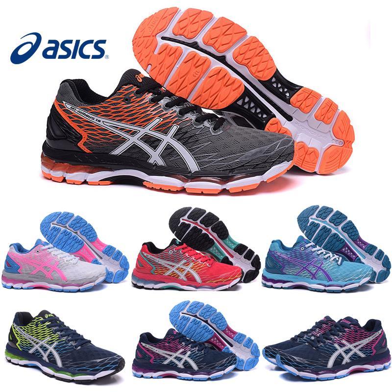 Zapatos Para Correr Asics Gel Nimbus 18 Lite Para Calzado Hombres Mujeres  Moda Profesional De Las Zapatillas De Deporte De Nueva Color Tamaño De  Envío ...