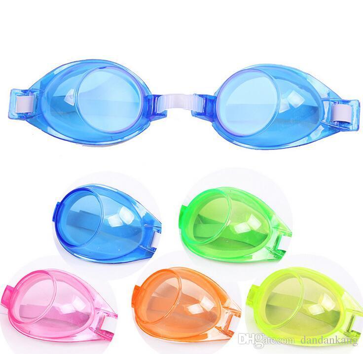 الأزياء نظارات السباحة للأطفال الأطفال الطفل بنين بنات سباحة نظارات المضادة للضباب السباحة نظارات قابل للتعديل الكبار نظارات قناع السباحة