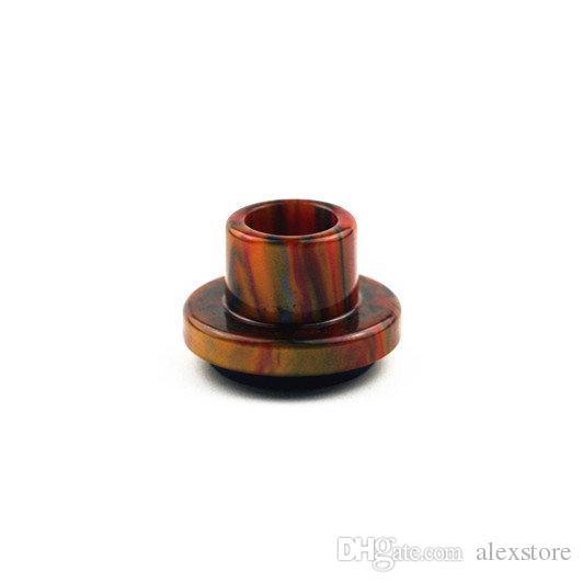 CLEITO 120 Porady kroplowe żywice epoksydowe szerokie otwór kroplówka końcówka ustnik do aspirus CLEITO 120 Atomizer Cewka zbiornika 8 kolorów Akcesoria e-papierosów