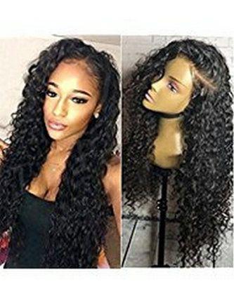 360 parrucca del merletto con la parrucca riccia anteriore pizzicata 360 parrucche anteriori del merletto dei capelli per le donne nere parrucche brasiliane dei capelli 12-24inch densità di 130%