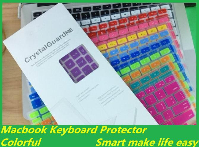Macbook Keyboard screen protector covers for Macbook Air Pro 11 13 15 inch English French Spanish Italian version keyboard covers free ship