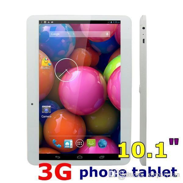 10.1 Dual SIM Dual-Core 3G WCDMA Tablet PC 10.1 inch MTK6572 Android 4.4 tablet pc 1024*600 Tablet PC 1GB RAM 8GB Phablet
