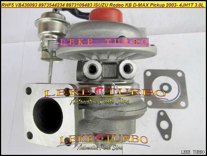 RHF5 VB430093 8973544234 8973109483 ISUZU Rodeo KB D-MAX Pickup 2003- 4JH1T 3.0L 130HP turbocharger (6)