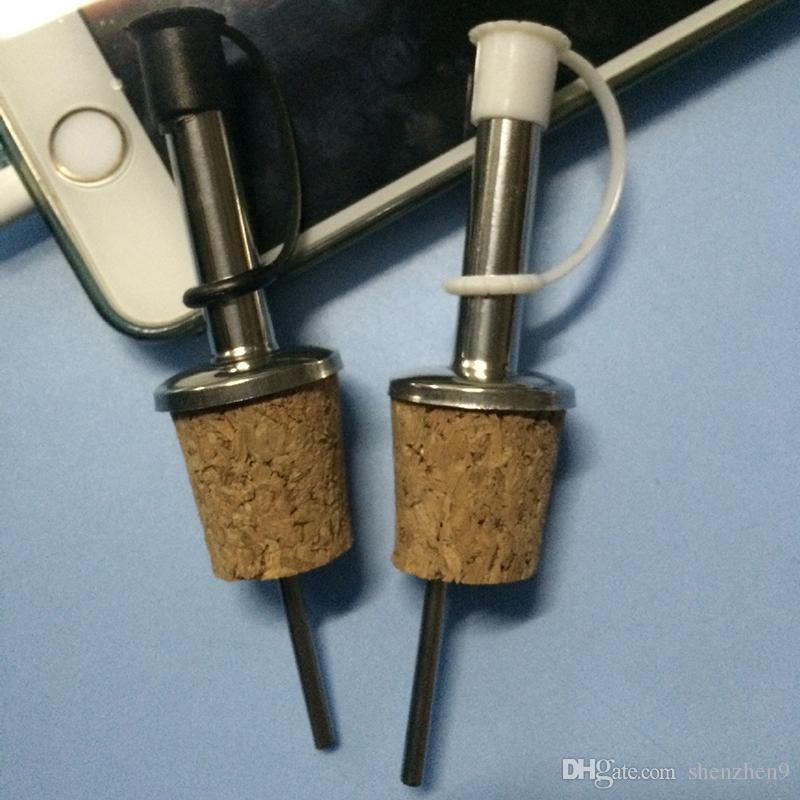 Wine Cork for Olive Oil and Beer Liquor Dispenser Pourers Spout Flip ...
