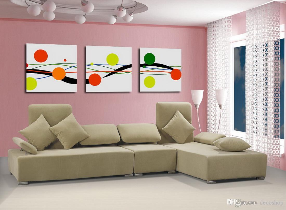 Modern Fine Abstract Painting Giclee Print On Canvas Wall Art Home Decoration Set30135