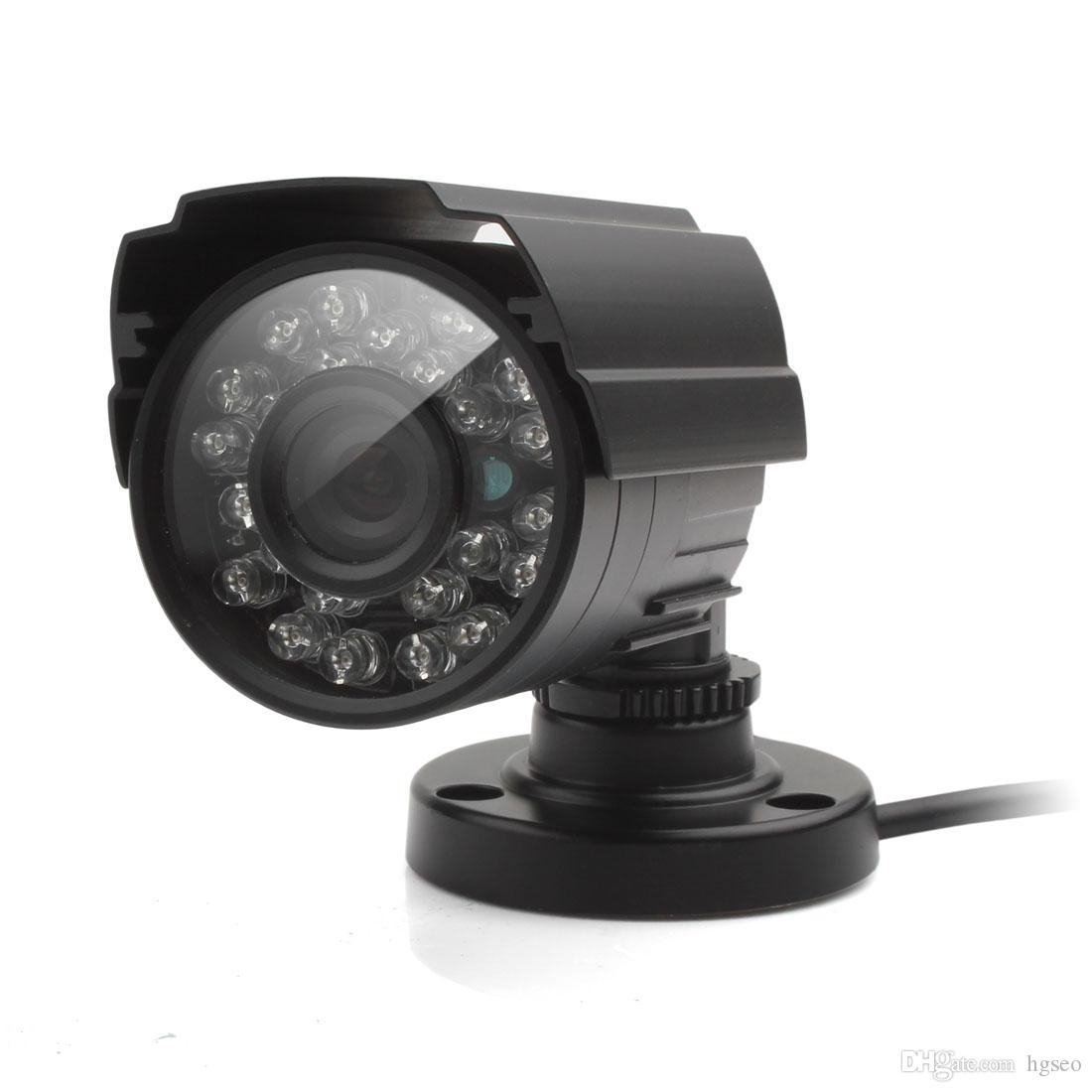 1200TVL CCTV Video 24IR LED 3.6mm Lens Night Vision Wire Dome Security Camera US