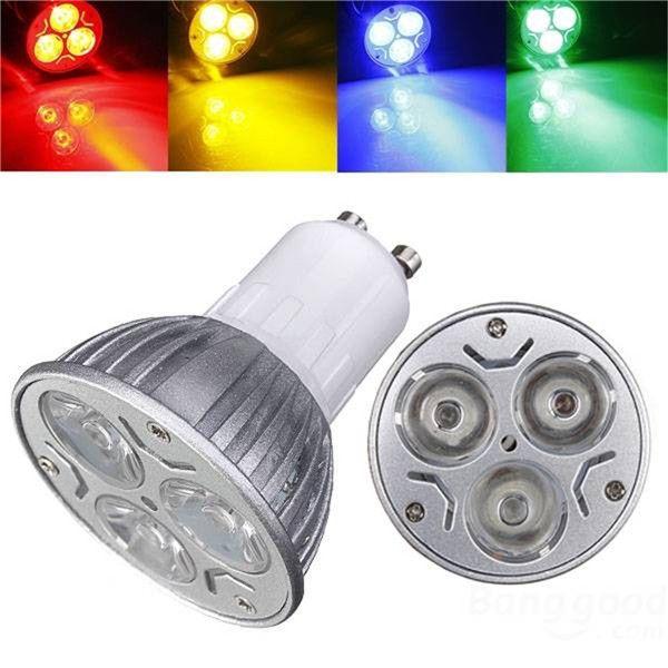 Big Promotion Gu10 3w 3 Led High Power Spotlight Home Light Lamp ...