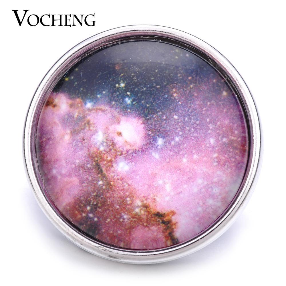 VOCHENG NOOSA Vente en gros 18mm Charme verre Snap Bijoux interchangeables Vn-1184