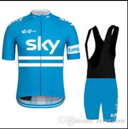 Pantalones de ciclismo del equipo de ciclismo Tour de France 2015 Equipo de ciclismo Ropa de ciclismo Manga corta Pantalones de ciclismo Bib Pantalones Traje de piel tamaño XS-4LX Zeoutdoor