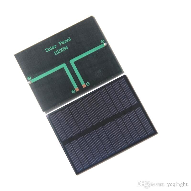 HOT Alta Qualidade 1.2 W 6 V Pequenos Painéis Solares Pocrystalline Silício Células Solares DIY Módulo de Célula Solar Kits Educativos Epoxy Frete Grátis