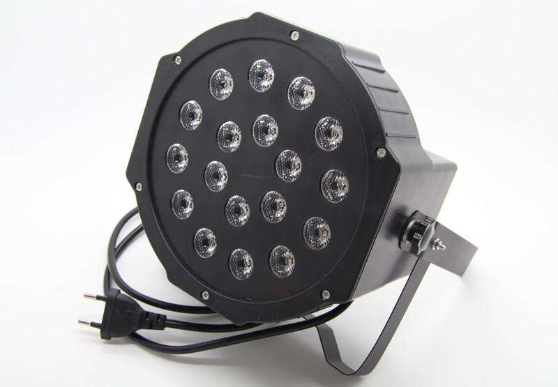 Free shipping 183W Led Stage Light High Power RGB Professional Par Wedd Stage&DJ Lighting DMX512 Master-Slave Led Flat