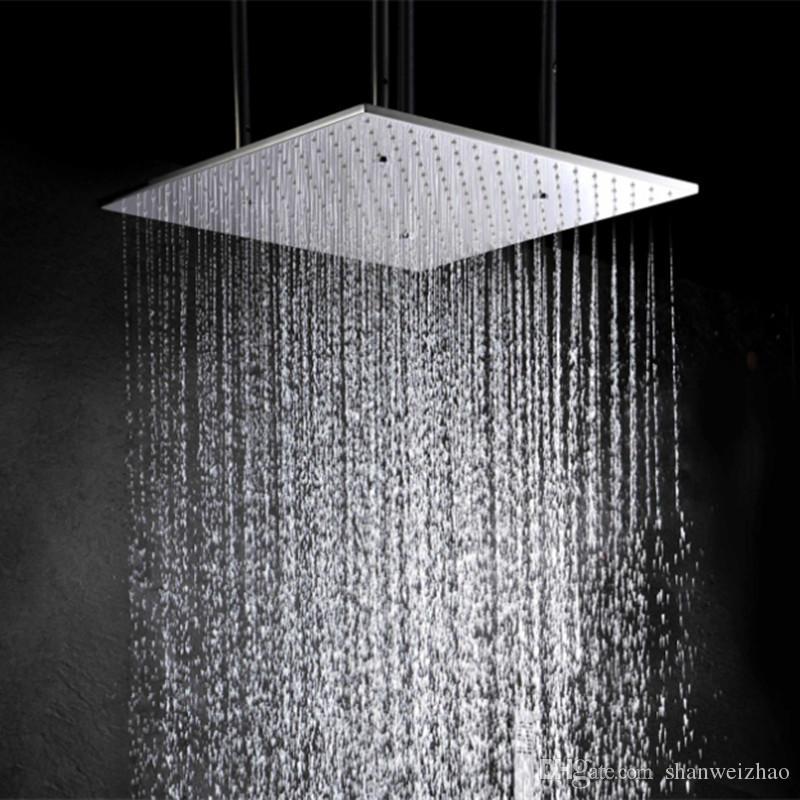 ترف 2 وظيفة الطاقة المائية 3 تغيير لون رأس دش الأمطار رذاذ أدى سقف رأس دش