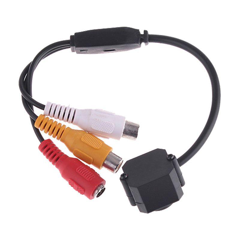 슈퍼 미니 카메라 비디오 오디오 380 TVL CMOS 모니터 보안 CCTV 카메라 Infrarood 1 / 4 인치 실내