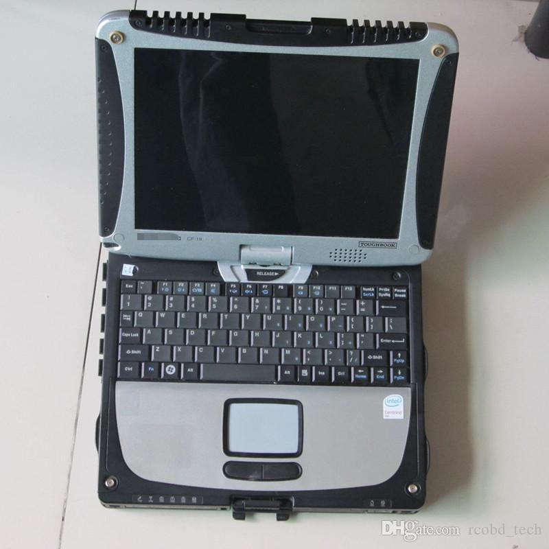 أعلى جودة عالية الجودة ل CF19 Toughbook cf-19 الكمبيوتر المحمول شاشة لمس الكمبيوتر رام 4 جرام أفضل ل mb ستار c3 c4 c5