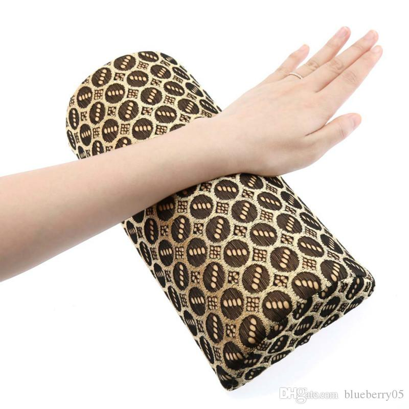 Wholesale- Soft Washable Hand Pillow Cushion Holder Nail Arm Towel Rest Nail Art Manicure Makeup Cosmetic Tools