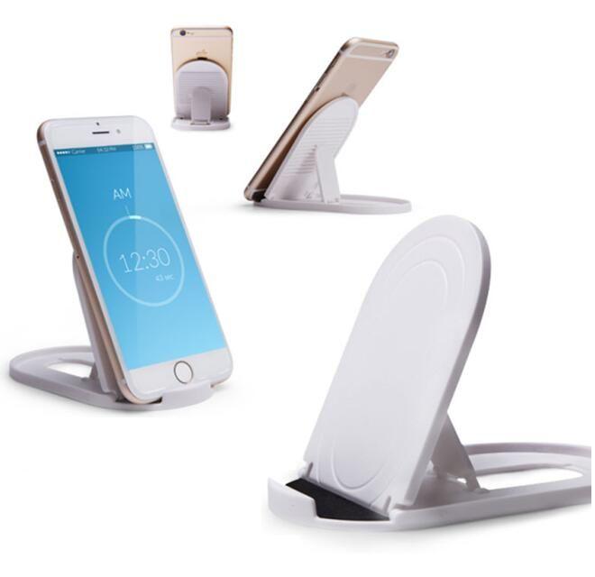 stand portable de téléphone simple Mounts réglable multi-angle, support pliant bureau Lazy universel pour iPhone / iPad / tablettes / support de téléphone portable