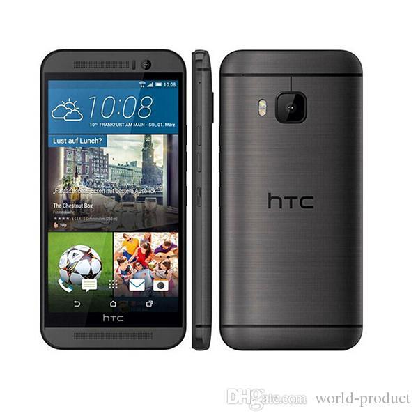 """100٪ الأصل HTC ONE M9 مقفلة الهاتف المحمول رباعية النواة 5.0 """"لمس الروبوت GPS WIFI 3GB RAM 32GB ROM دي إتش إل الحرة شيبينغ"""