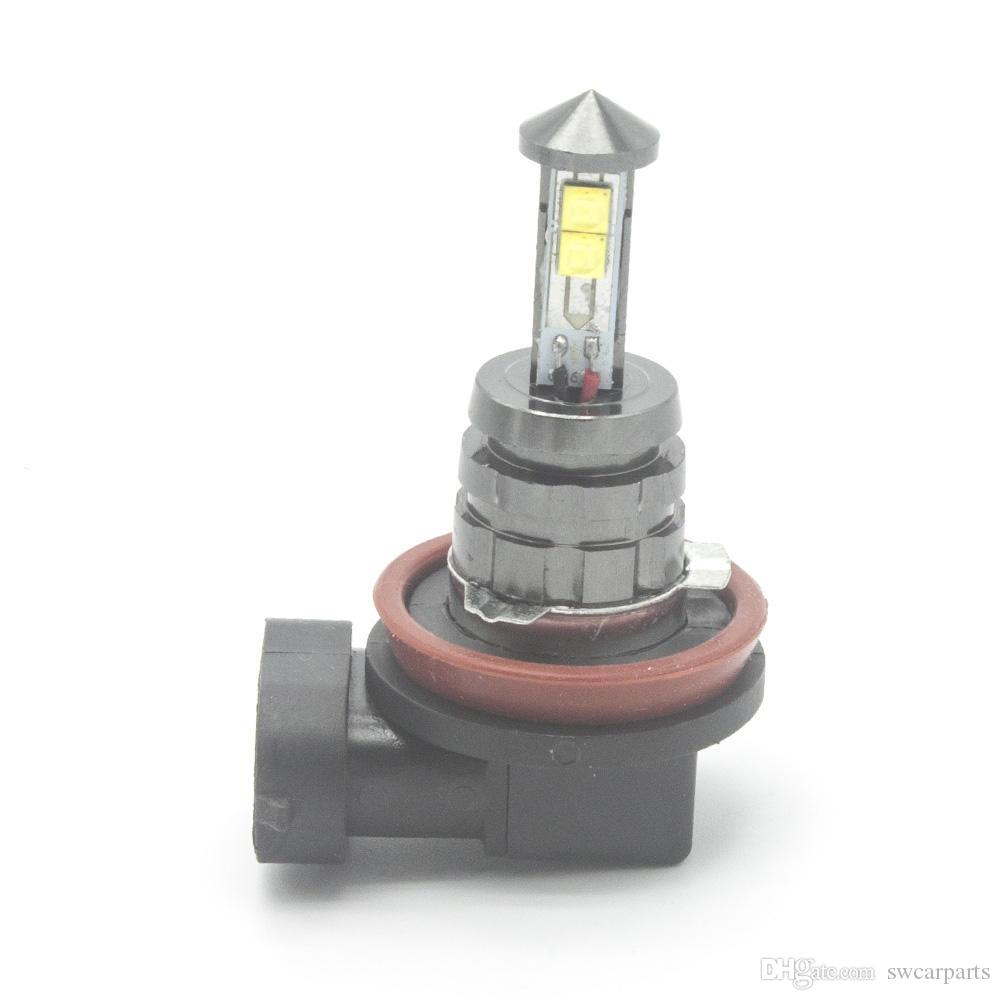 H8 / H11 Süper parlak Araba Ön Başkanı Işıklar / Sis Lambaları Beyaz Işık 4 XT-E LED Siyah KingKong 12 V ampul