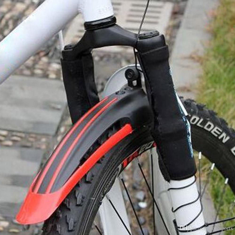 Mountain Bike Bicycle Road Tyre Tire Front Rear Mudguard Fender Set Mud Guard