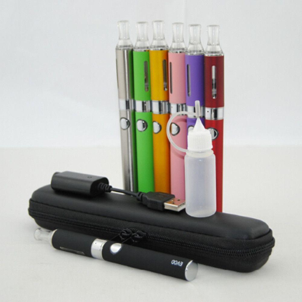 EVOD MT3 Kit Kit de cremallera larga e kits de inicio de cigarrillo kits individuales con EVOD batería MT3 vaporizador