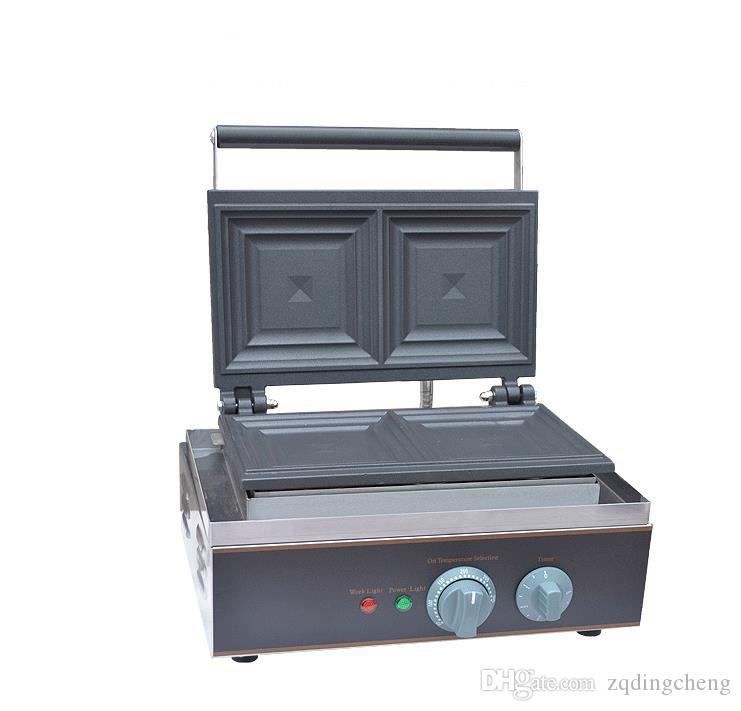 Envío gratis ~ 220 V 110 V Máquina de Sandwich Tostado Pan waffle panadero