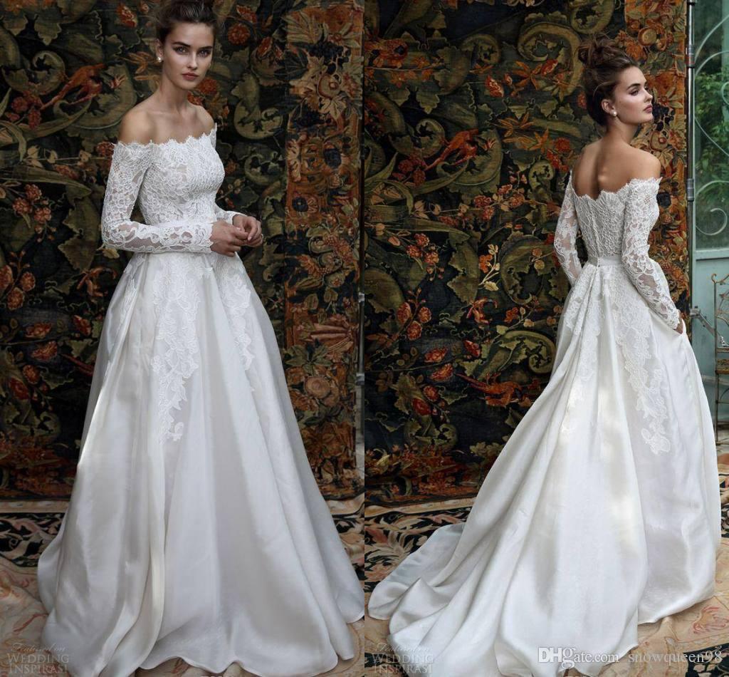 Discount 2017 New Lihi Hod Bridal Madison Romantic A Line Wedding ...