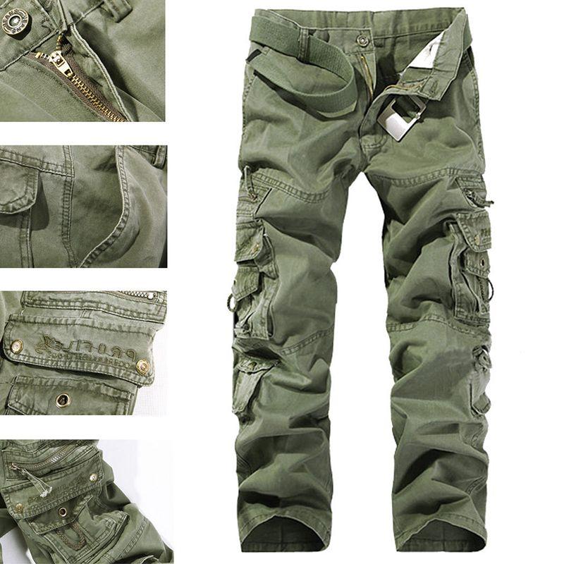 Mens shorts cargo Gray Camoflauge 28 29 30 31 32  long  cotton new