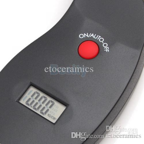 Wholesale Portable Digital Car Motorcycle LCD Air Tire Tyre Pressure Gauge Tester PSI Kpa lots100