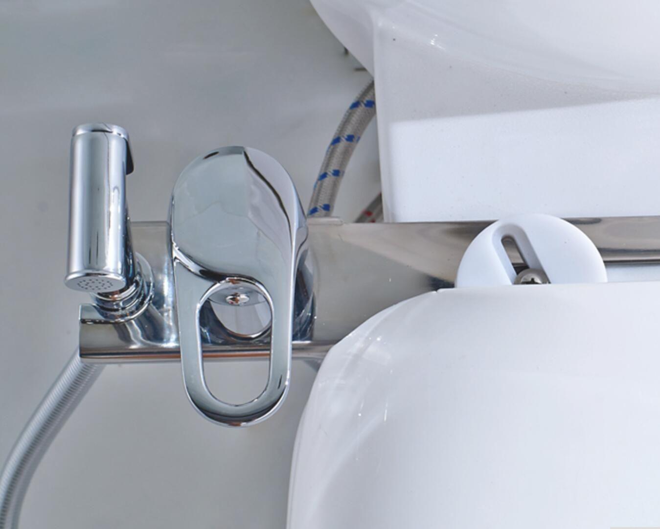 Boquite Weihnachtskarneval Badezimmer Handbrause Silber Bidet Sprayer Multifunktionale Badezimmer Handheld verstellbare Bidet Dusche Sprayer Schlauch Wandhalterung
