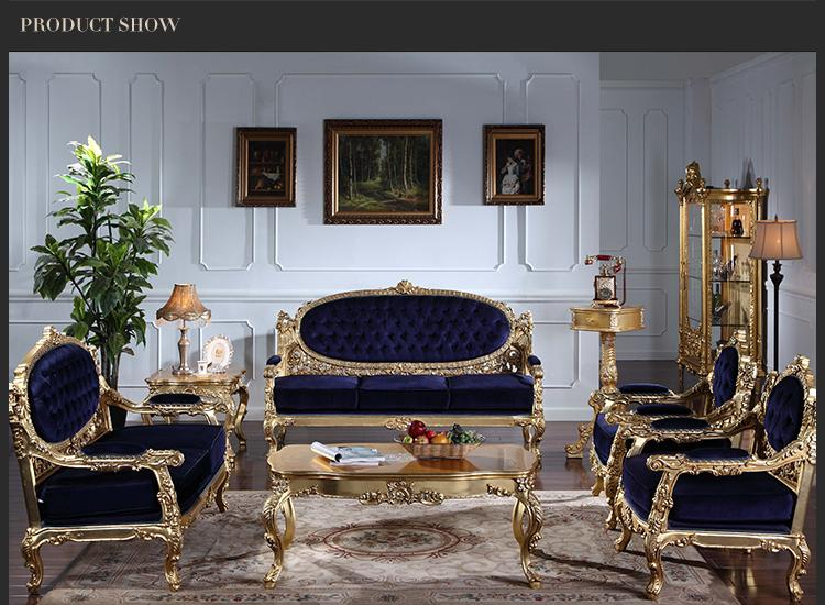 2019 High End Classic Living Room Furniture European Classic Sofa Set With  Gold Leaf Gilding Italian Furniture Luxury From Fpfurniturecn, $1820.11 |  ...