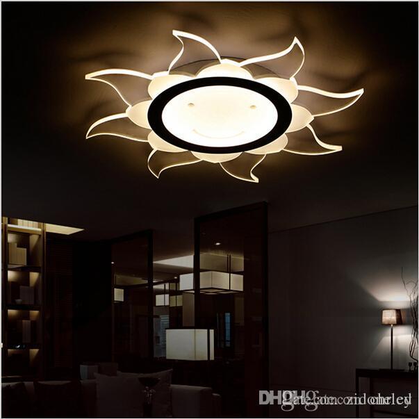 Super-dünne moderne runde LED-Oberfläche montiert Deckenleuchten Lampe Licht Home Wohnzimmer Schlafzimmer LED Deckenleuchten