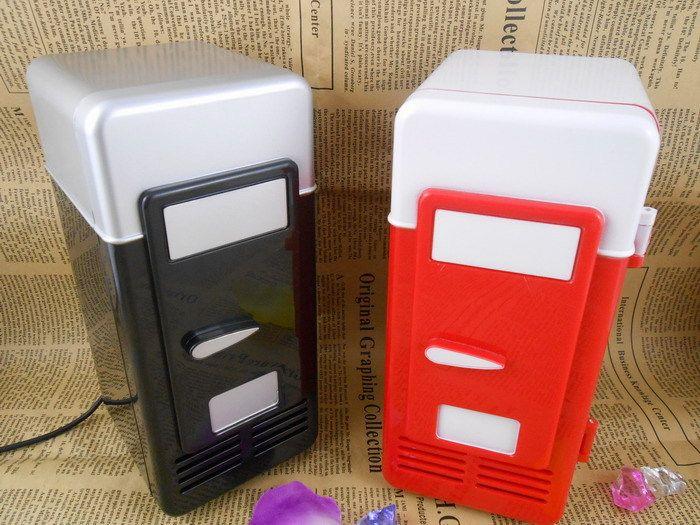 USB Mini-réfrigérateur système de réfrigération à froid et chaud chaud petit réfrigérateur réfrigérateur boîte de cosmétiques