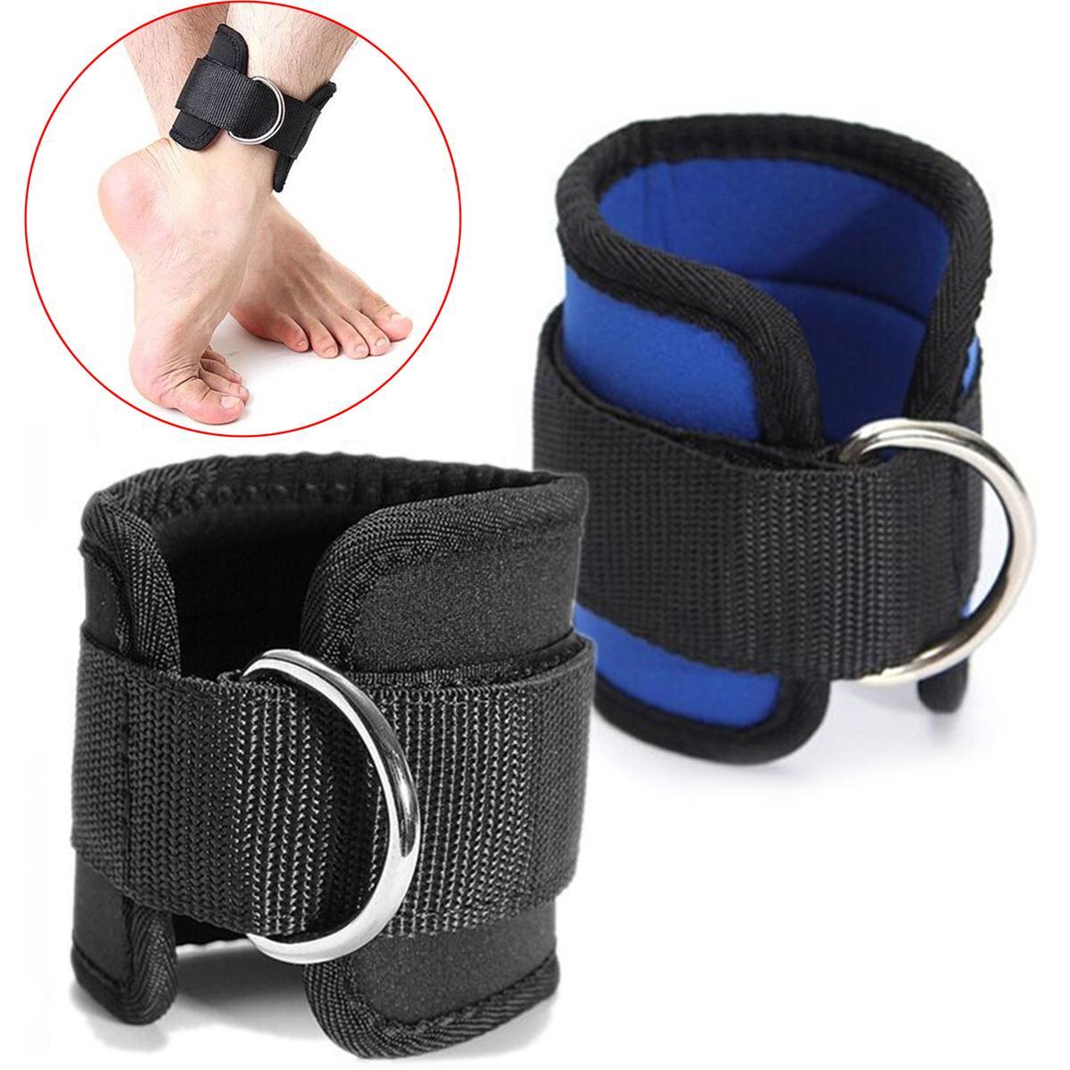 Новейшие D-Ring Bandkle Braple Buckle Body Body Body Сопротивление Дизак Гидратный тренажерный зал Multi Бедра Лодыжки Ноги Манжеты Питание Подъемная Фитнес