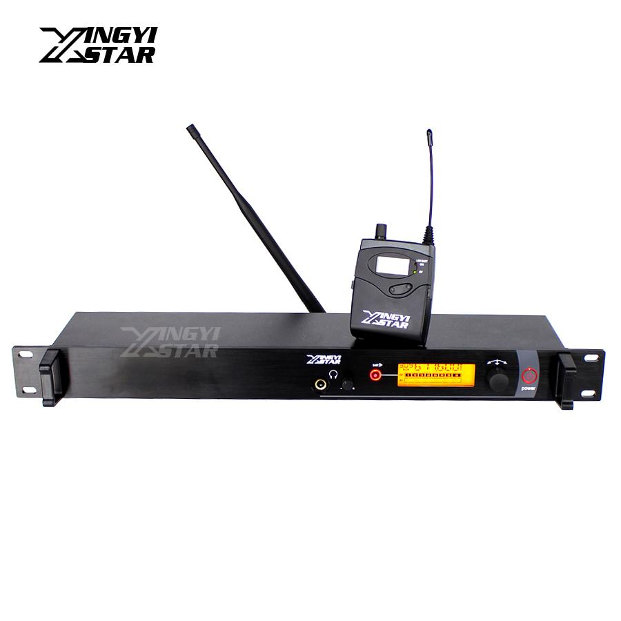 SR2000 IEM In Ear Monitor Wireless System Stage UHF Mono Professional Headset Bodypack Receiver in Earphone Monitoring Transmitter