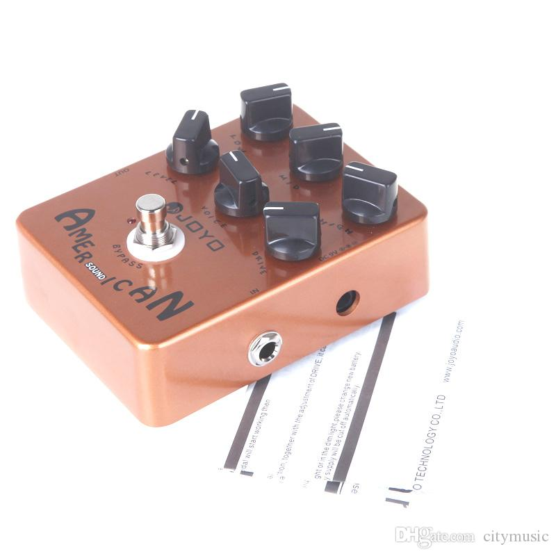 JOYO JF-14 American Sound Pedal de efecto de guitarra eléctrica True Bypass JF 14