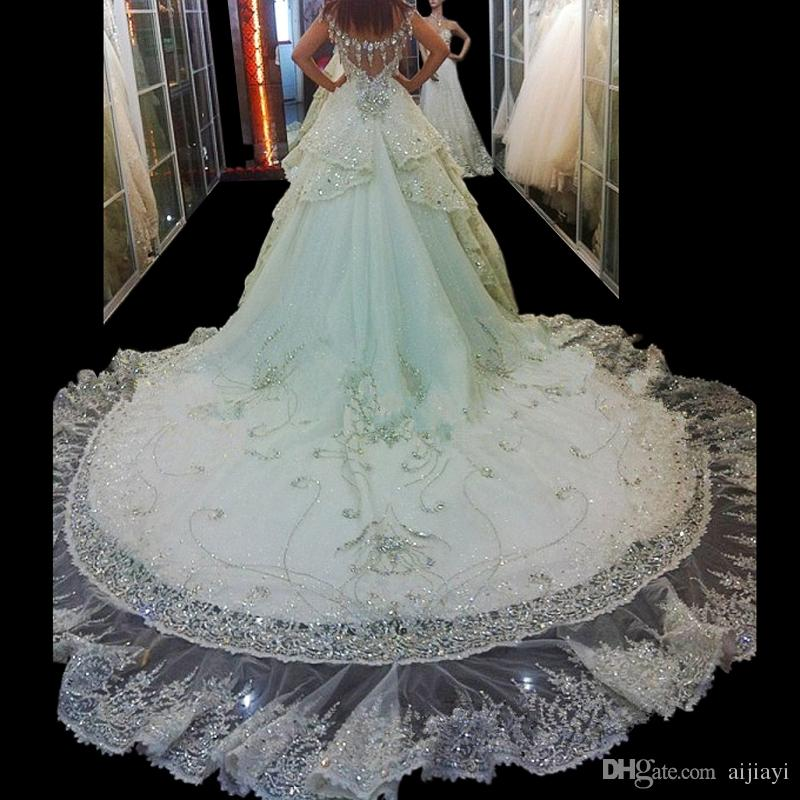 Hot Sale Expensive Wedding Dresses Luxury Wedding Dress With ...